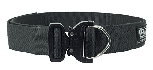 Elite Survival Systems Cobra Rigger's Belt with D Ring Buckle (Black, (Cpr System)