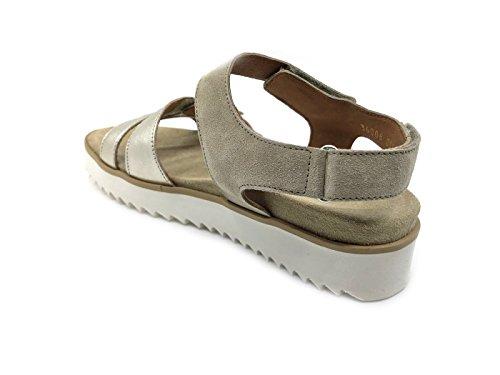 BENVADO Women's Fashion Sandals Grey Platino Silver nkrx2