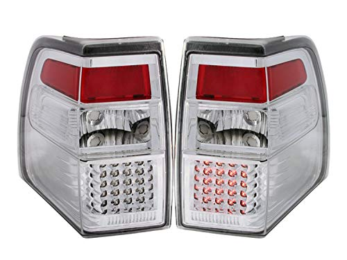 Anzo USA 311109 Ford Expedition All Chrome LED Tail Light Assembly – (Sold in Pairs)