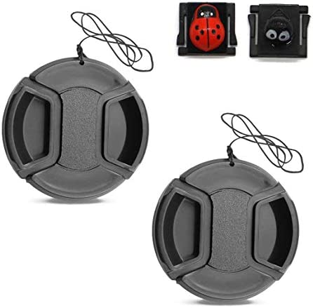 Lens Lasso attaches to your camera Photography Accessories Camera Accessories Never lose Lens Cap again Camera Lens Cap Tether 2 pack