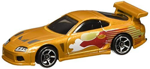 Hot Wheels 2016 Fast and Furious '94 Toyota Supra 1/8, Orange (Toyota Supra Hot Wheels Fast And Furious)