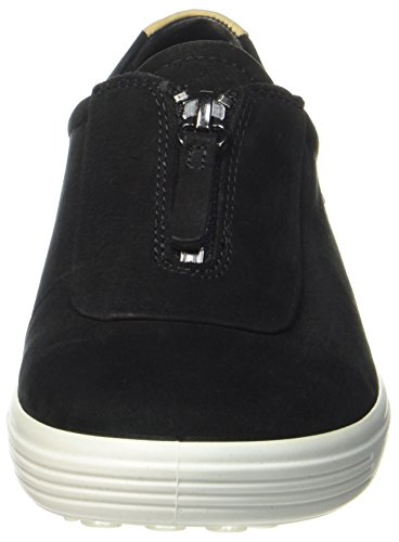 Sneakers Noir Soft Femme Ecco Ladies Black 7 Basses SxRYTqtT
