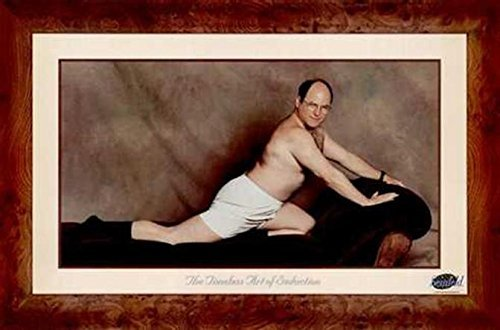 George Costanza Seinfeld TV Show 36x24 Art Print Poster Wall Decor Humor Famous Photo Pop Culture The Timeless Art of Seduction