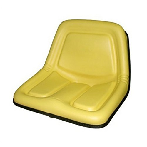 TY15863 New Yellow High Back Seat Made for John Deere Riding Mower Models 130 +