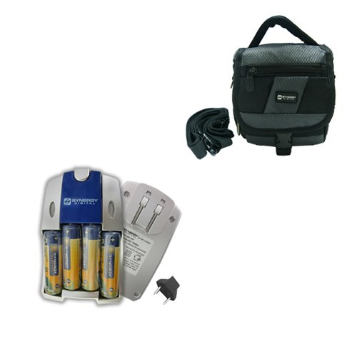 Nikon Coolpix L830 Digital Camera Accessory Kit includes: SB257 Charger, SDC-27 Case