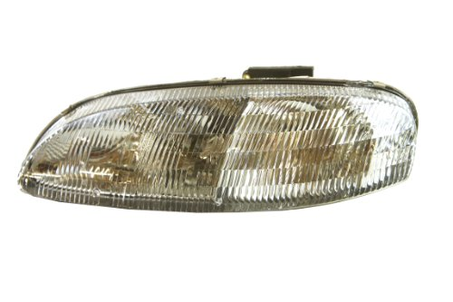 Lumina Sedan Headlight Headlamp - Genuine GM Parts 10420375 Driver Side Headlight Assembly Composite