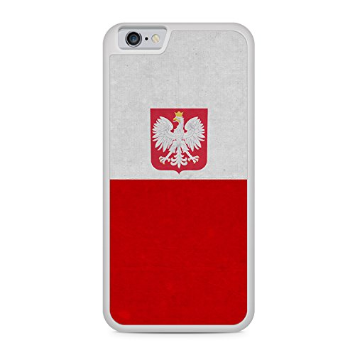 Polen Polska Poland Flagge Apple iPhone 6 / 6S SILIKON WT Hülle Cover Case Schale