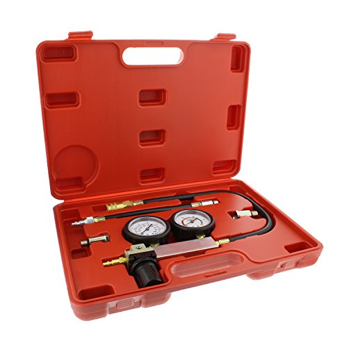 ABN Cylinder Leak Detector & Engine Compression Tester Kit - Piston Ring, Valve, Head Gasket Diagnosis Leakage Test Set