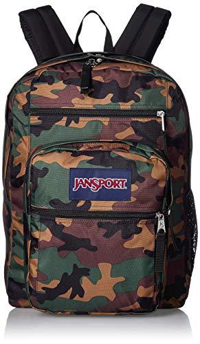 JanSport Big Student Backpack - 15-inch Laptop School Pack, Surplus Camo