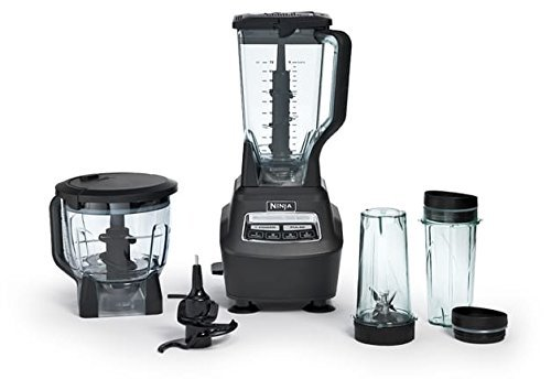 Ninja Mega Kitchen System Blender and Food Processor with Nutri Ninja Cups - BL770 (Renewed)