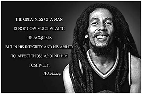 Bob Marley Quote Posters For Classroom Black History Month Poster  Decorations School Classrooms Wall Art Decor Teaching Supplies  Inspirational ...