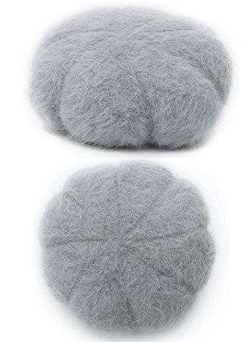 Epsion Women Winter Knit Crochet Newsboy Caps Lady Warm Pearl Knit Beanie Hat by Epsion (Image #3)