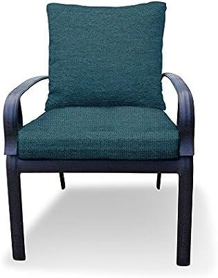 Amazon Com Thomas Collection Outdoor Cushions Blue Teal Patio