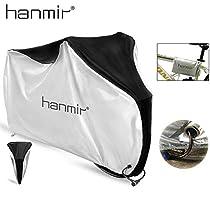 Hanmir Funda Bicicleta, Funda de Protección Bicicleta portátil 190T Impermeable,Anti Polvo y UV para Montaña Carretera -