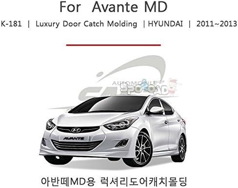 Chrome Door Handle Catch Cover Molding K181 for Hyundai Elantra 2011-2016
