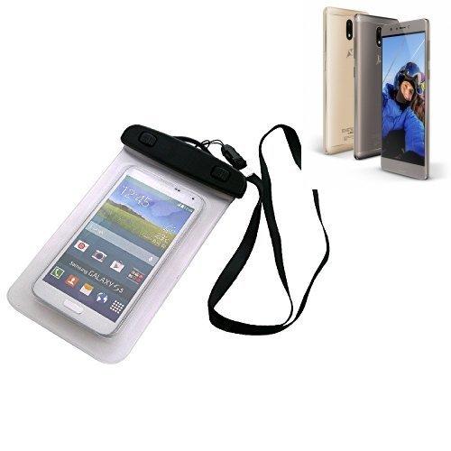 Custodia Cellulare Impermeabile Universale Pollici Waterproof Cover Case per Allview P9 Energy S. Universale Beach Bag / parapioggia / manto nevoso 16 centimetri x 10 centimetri - K-S-Trade(TM)