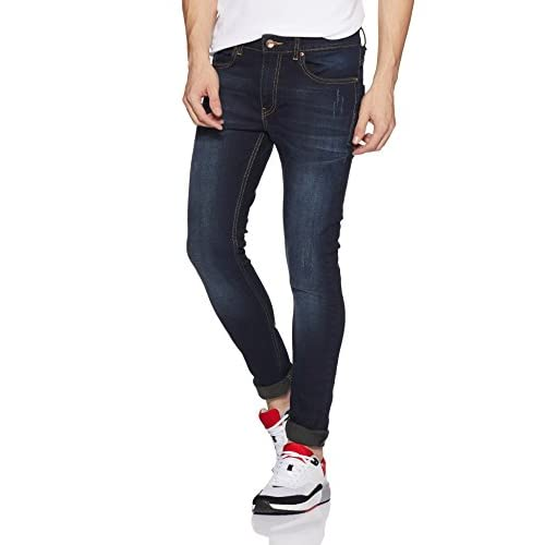 41bFgVV4tiL. SS500  - Amazon Brand - Symbol Men's Skinny Fit Stretchable Jeans