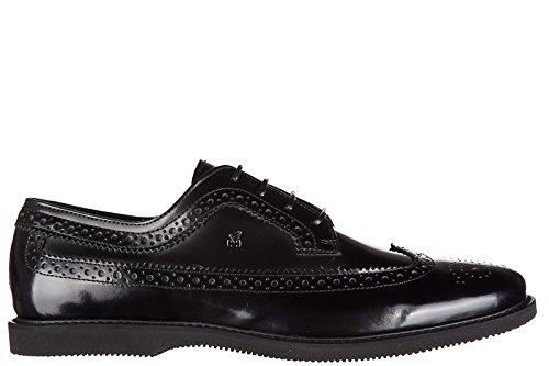 Hogan scarpe stringate classiche uomo in pelle nuove club guardiolo l derby buca