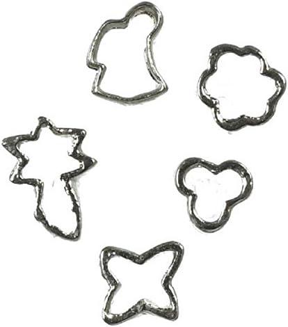 Dollhouse Miniatures Metal Cookie Cutter Set
