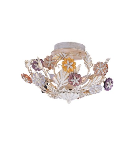 Crystorama 5008-CH-CL-S, Swarovski Crystal Chandelier Lighting, 8 Light, 480 Watts, Chrome - Traditional Chandelette