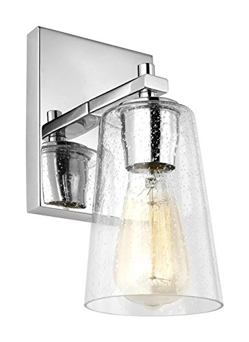 Feiss 1 light wall sconce vs24301ch 1 chrome