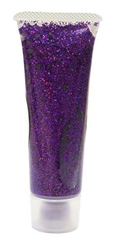 Eulenspiegel 907061 - Effekt Glitzergel 18 ml, Lavendel - Juwel