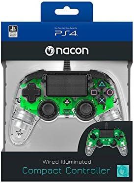 Nacon - Mando Compacto para PS4, color Cristal Verde: Nacon: Amazon.es: Videojuegos