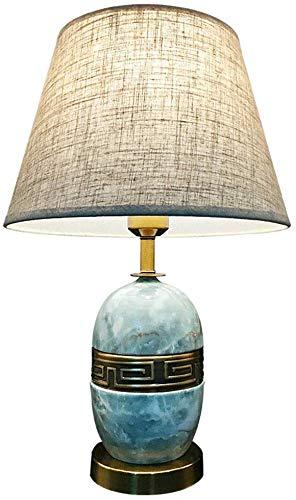 LCK Lámpara de escritorio, lámpara de mesa Interruptor de botón de ...