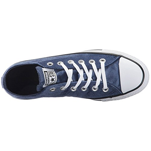 Velvet Converse Star Ox Navy Chuck Trainers All Midnight White Womens Taylor YrwFqY7