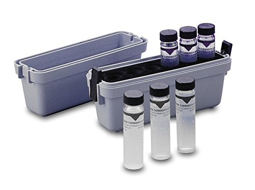 Hach 2659405 StablCal Turbidity Standards Calibration Kit, 2100P Portable Turbidimeter, Sealed Vials