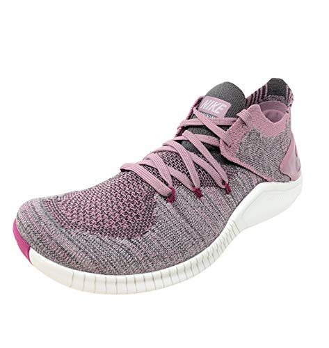 Nike Free Tr Flyknit 3 Womens Cross Training Shoes (8 B(M) US, Plum Dust/True Berry-Atmosphere Grey)