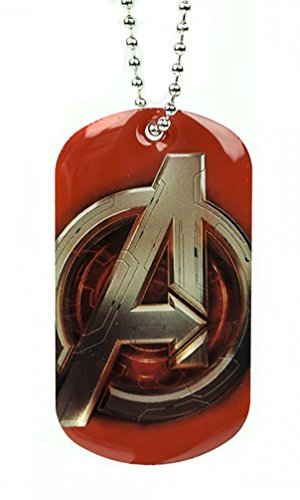 Marvel Comics The Avengers Logo Dog Tag Ball Chain