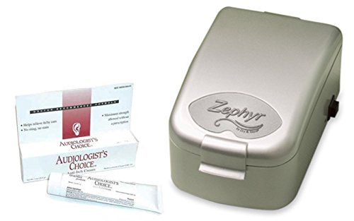 Zephyr Travel Hearing Aid Dryer with FREE Anti-Itch Ear Cream by Dry and Store (Image #3)