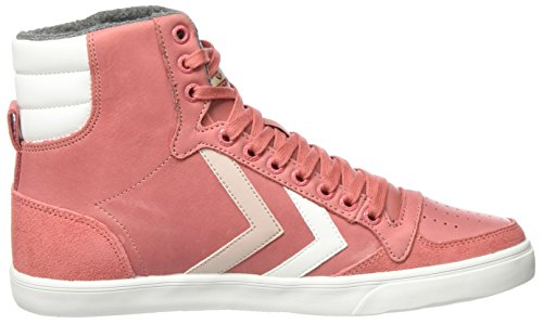 Alte Hummel faded Oiled Rosa Da Scarpe Duo Rose High Ginnastica Donna Slimmer Stadil 8qw8f