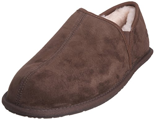 UGG Men's Scuff Romeo Ii Slipper, Espresso, 10 M US