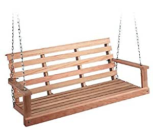August Grove Rosean Porch Swing, 60""