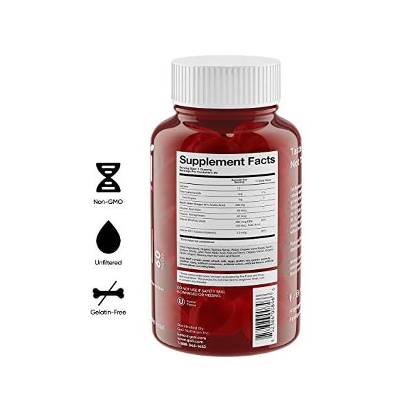 Health Shopping Apple Cider Vinegar Gummy Vitamins by Goli Nutrition – Immunity & Detox