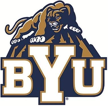 NCAA Brigham Young Metal Emblem One Size One Color
