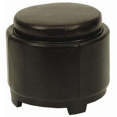 Fantastic Amazon Com Round Storage Tray Ottoman Black Round Kitchen Gamerscity Chair Design For Home Gamerscityorg