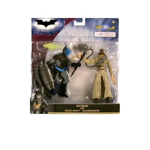 The Dark Knight Deluxe Batman vs. Fear Shot Scarecrow Action Figure 2-Pack (The Dark Knight Scarecrow)