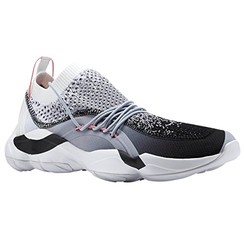 Reebok DMX Fusion Shoe Unisex Casual 9 Black-White-Cool Shadow by Reebok