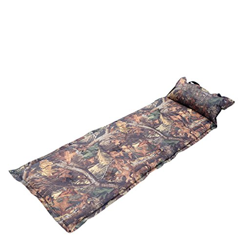 Dfb Outdoor Camouflage Tapis Gonflable Automatique Tapis Humide Air Cushion Bed Lunch Break Pad Stitching Mats Beach Leisure