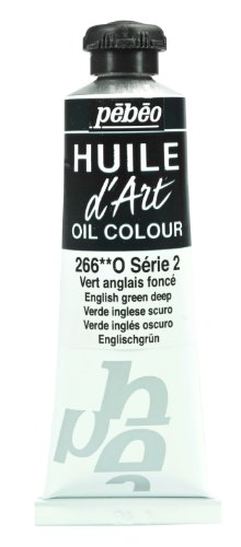 Pebeo Huile d'Art Tube, 37ml, English Green Deep by Pbo