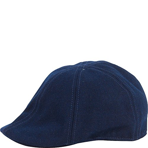San Diego Hat Wool 6 Panel Driver with Inner Stretchband (One Size - Navy)