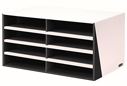Bankers Box Premier 8-Compartment Sorter, Black (7648501)