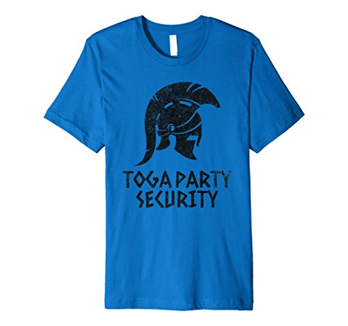 Funny Toga Security T Shirt College Party Tee