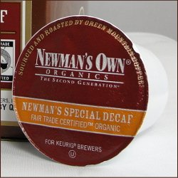 Newman's Own Organics -- Devoted DECAF COFFEE -- 48 K-Cups for Keurig Brewering Systems