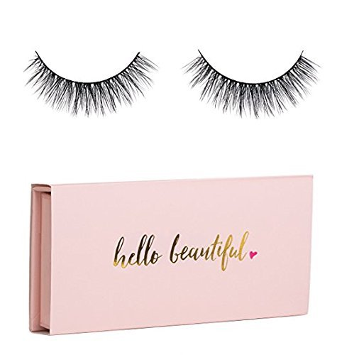 Icona Lashes Premium Quality False Eyelashes | Love Story | Fluffy and Universal for All Eyes | Non-Magnetic | Natural Look and Feel | Reusable | 100% Handmade & Cruelty-Free | Signature (Eyelash Set)
