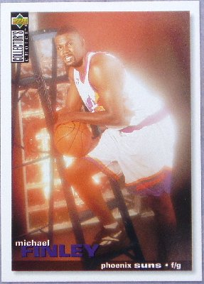 Michael Finley 1995-96 UD Collector's Choice Rookie Card #304
