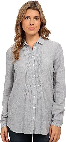 (Mavi Jeans Women's Pintuck Shirt Deep Blue)